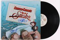 Cheech & Chong Dual Signed Original 1978 Up In Smoke LP Mint Rare Beckett COA