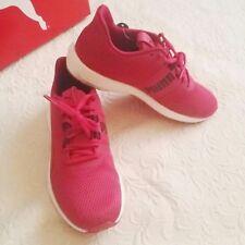Puma Mega NRGY Turbo Womens 8.5 Running Shoes Love Potion Dark Purple Pink NIB A