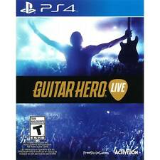 PS4 Game - GUITAR HERO LIVE - GAME ONLY
