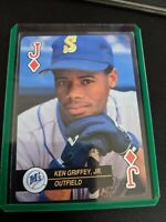 KEN GRIFFEY JR 1992 Baseball ACES Jack of Diamonds Collectors Card Rare