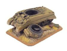 Destroyed Sherman Iii Objective Marker Xx502 Flames Of War New In Blister