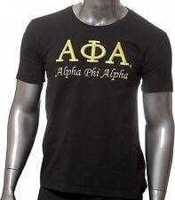 Alpha Phi Alpha 3D Embroidered Signature Mens T-Shirt