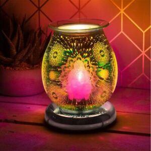 Desire Aroma 3D Electric Touch Lamp Buddha Design Wax Melt Oil Burner