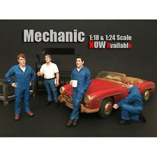 1/18 American Diorama Mechanic Set #3- FOUR figures for your garage/shop