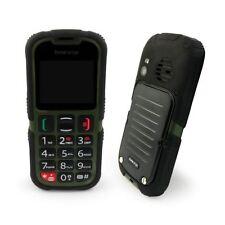Téléphones mobiles verts double SIM