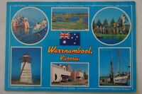 Warrnambool Victoria Australia Vintage Collectable Postcard.