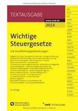 Wichtige Steuergesetze - nwb Textausgabe - 63. Auflage (TB)
