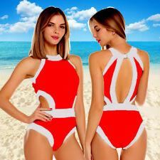 Sexy Women One-Piece Push Up Bikini Bandage Monokini Swimsuit Bathing Swimwear S
