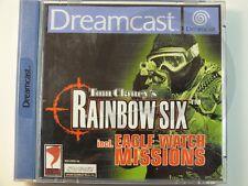 SEGA DREAMCAST DC JUEGO Tom Clancy´s Rainbow Six, usado pero BUENO
