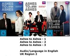 Ashes to Ashes Complete Series 1-3 DVD Collection Season 1 2 3 R2 UK Compatble x