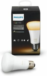 Philips Hue White Ambiance A19 10W / 60W Dimmable LED Smart Wireless Light Bulb