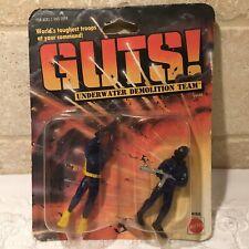 1986 Mattel Guts Underwater Demolition Team 2 Pack Action Figures #4166 New