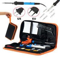 110V/220V 60W Adjustable Electric Temperature Iron Tool Welding Soldering