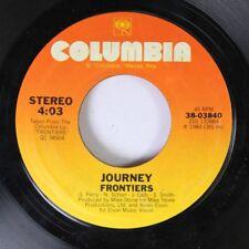 Rock 45 Journey - Frontiers / Faithfully On Columbia