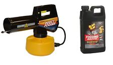 Burgess 960 Electric Insect Fogger + Black Flag 190256 64 oz Fogging Insecticide