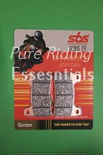 2 X SBS 809 HS FR HONDA CBR 1000 RR FIREBLADE 2004-2015  FRONT BRAKE PADS
