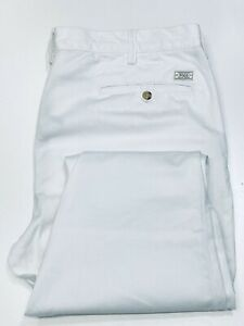 Ralph Lauren Mens Slim Fit Bed ford Chino White