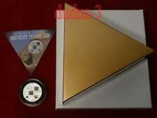 2013 British 10$ The Great Pyramids High Relief Pyramid Coin