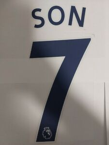 Tottenham  Name Set Player Size 2021-2022 SON 7 shirt jersey official
