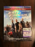 Fast  Furious 6 (Blu-ray Disc, 2013, 2-Disc Set)