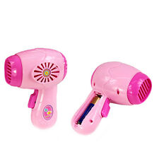 Pink Mini Hair Dryer Dryers Electric Dryers Safety Toys For Children Kids