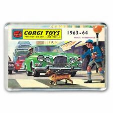 Retro Corgi Toys 1963/64 Catálogo Obras De Arte-Jumbo Refrigerador/spint Imán