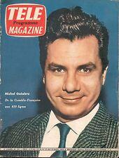 ▬►Télé Magazine 221 (1960) MICHEL GALABRU_ERROL FLYNN_ROGER MOORE (IVANHOÉ)
