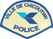 Ville de Chicoutimi Police, Quebec, Canada HTF Vintage Uniform/Shoulder Patch
