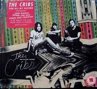 THE CRIBS ~ FOR ALL MY SISTERS ~ DELUXE EDITION CD & DVD ALBUM New And Sealed