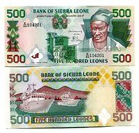 SIERRA LEONE 500 LEONES 1995 P-23 UNC