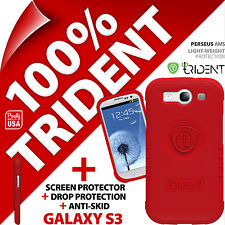 2 x New Trident Perseus AMS Protective Case For Samsung i9300 Galaxy S3 + Screen