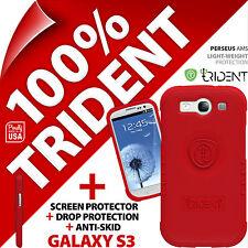 2 X Neuf Trident Persée Ams Étui Protection pour Samsung i9300 Galaxy S3 + Écran