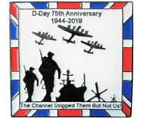 WW2 D-Day 75th Anniversary 1944 Normandy Landings 2019 Military ARMY RAF Badge