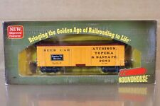 Roundhouse 84117 SANTA FE at&sf 36' madera Reefer CERVEZA COCHE Vagón 2983 MINT