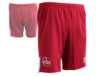 Umbro 1.FC Nürnberg Away Fußball Short rot FCN Sporthose Turnhose Club S - XXL