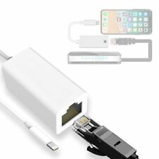 High Speed Lightning to RJ45 Ethernet Internet Adapter Cable For iPhone X 6 7 8