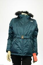 *Women's The North Face Greenland Jacket M New Hooded Insulated Fur Hooded NWT