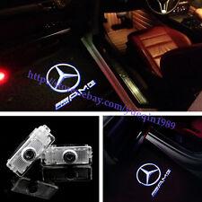 New (2PC) Benz AMG Logo LED laser Projector door light For Mercedes CLS CLA C207