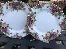 Royal Albert Old Country Roses, 1962 Wear To Pattern, 6.25 Inches Butter Plates