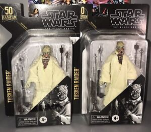 Star Wars The Black Series Archive Tusken Raider 6-Inch NEW SEALED Lot Of 2