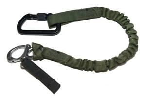 Tactical OD Little Bird Helo Personal Retention Lanyard - SEAL DEVGRU NSW CAG