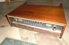 Heathkit Aj-43D transistor Tuner with wooden cabinet