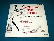 """THE COUSINS """"Music of the Strip"""" VG+ promo LP : Parkway 7005 @ 1961 Sexy LOUNGE"""