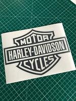 Sticker harley davidson cycles 15x20cm - 20 couleurs au choix - Autocollant