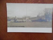 c.1912 Bennington Vermont Soldiers Home Real Photo Postcard Rppc Antique