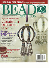 BEAD & BUTTON,  DECEMBER, 2013   ISSUE 118 (   YOUR COMPLETE BEADING RESOURCE )