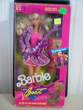 """1989 """"BARBIE AND THE BEAT"""" BARBIE DOLL & 1991 TOYS R US """"SWEET ROMANCE"""" BARBIE"""
