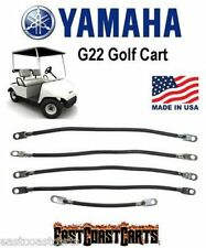 Yamaha G22 Golf Cart #2 Gauge Battery Cable Set