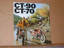 1976 Honda CT90 CT70 Motorcycle Sales Brochure - Literature