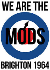 """NEW We are the MODS  34""""x24""""  POSTER"""